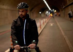 Concept Smart Jacket: l'idea Ford pensata per i ciclisti