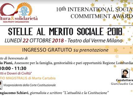 """""""Stelle al merito sociale"""", Maratea tra i premiati."""