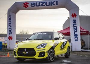 Aci Rally Italia Talent 2019 viaggia su Suzuki Swift Sport