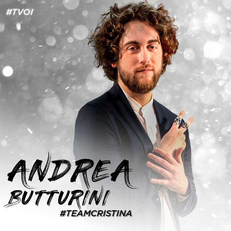 the voice of italy 2018 Andrea Butturini