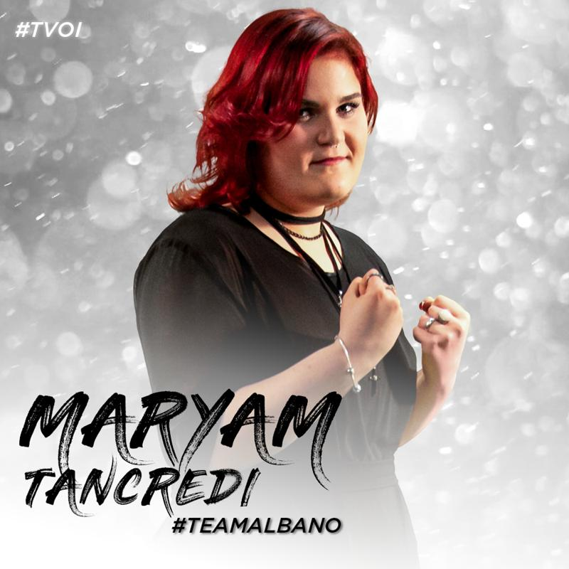the voice of italy 2018 Maryam Tancredi