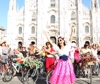 Milano, 500 donne in bicicletta per la Fancy Women Bike Ride