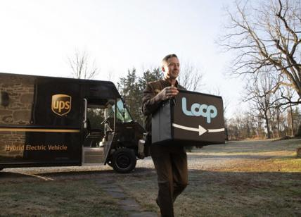 Ups-TerraCycle lanciano il primo packaging riutilizzabile per beni di consumo