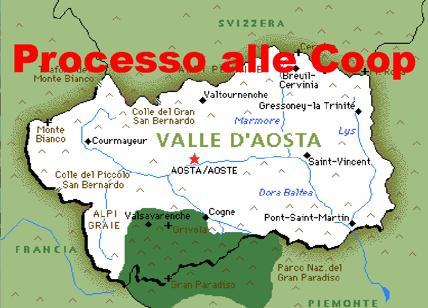 Coop pigliatutto in Valle d'Aosta. Procura chiede processo per politico e coop