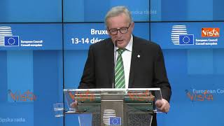 "Brexit, Juncker: ""Ue intensifica preparativi al no deal"""