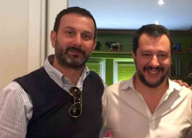william de vecchis matteo salvini