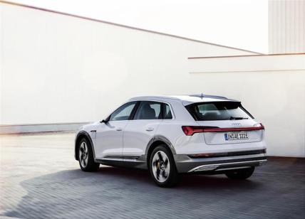 Audi e-tron 50 quattro: 313 cavalli e 300 Km di autonomia