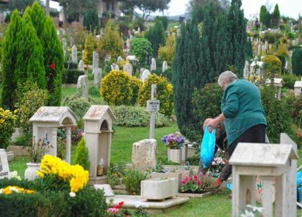 Chioschi di fiori abusi al cimitero Flaminio. Chiusi da polizia e vigli