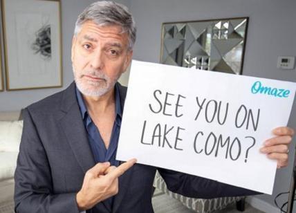 George Clooney ti invita a pranzo sul lago di Como