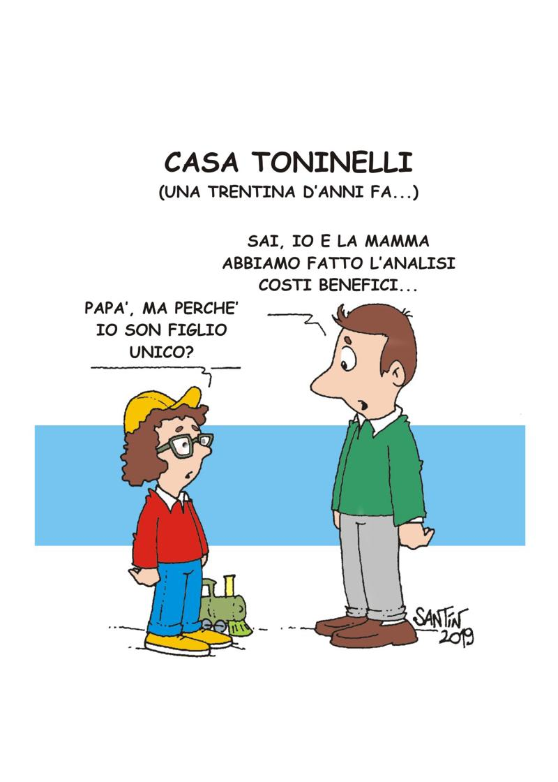 COSTI BENEFICI in casa Toninelli