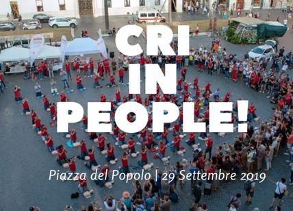 Giornata mondiale del cuore, la Croce Rossa Italiana occupa piazza del Popolo
