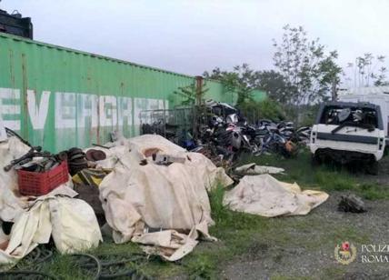 Auto, rifiuti pericolosi e anche un allevamento: chiusa