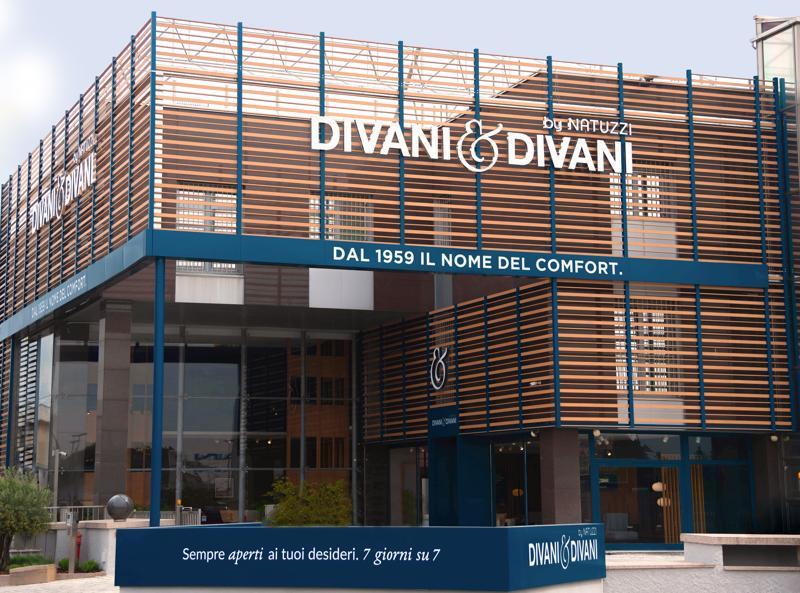 Divani & Divani by Natuzzi inaugura il negozio più grande d ...