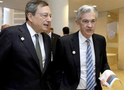 draghi powell
