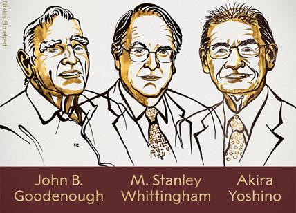 Nobel: premio per la Chimica a Goodenough, Whittingham e Yoshino