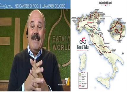 Giro d'Italia parte da Bologna. Ma la Sala Stampa è a 10 km… da FICO/Farinetti