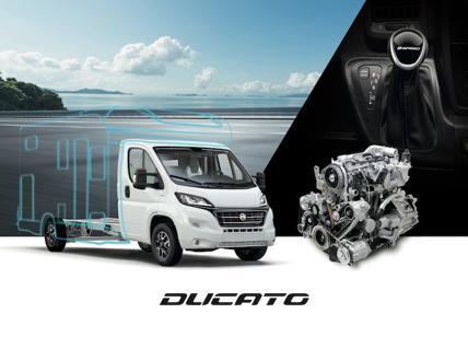 Ducato elettrico, la novità della Fiat