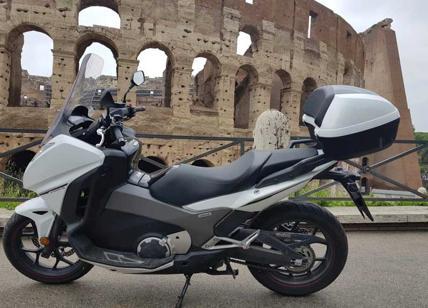 Test Sulle Strade Di Roma Per La Honda Integra Maxi Scooter Vera