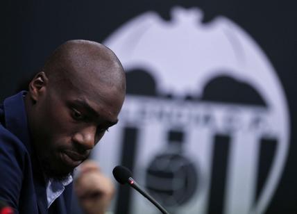 Valencia, spavento per Kondogbia: il giocatore è fuori pericolo