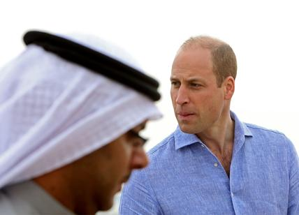Il principe William in visita in Kuwait