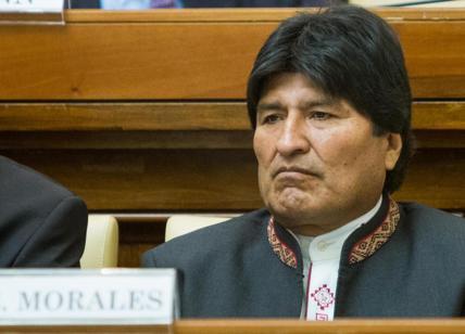 Parziali Bolivia, Morales in testa