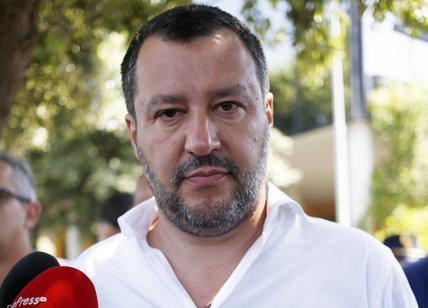 """Salvini a Pontida: """"Siamo l'Italia vincente,mai con il PD"""""""