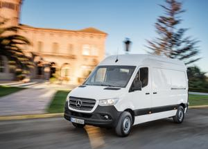 Mercedes-Benz Sprinter: con la giusta (at)trazione