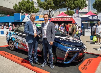 Toyota ed Eni insieme sulla via dell'idrogeno