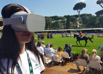 Piazza di Siena 2019, Virtual Reality a 360°