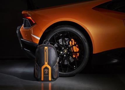 0ddc2d9707 Piquadro e Lamborghini presentano a Ginevra lo zaino Bagmotic Special  Edition