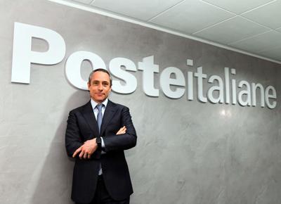Italian Post Office CEO Matteo Del Fante