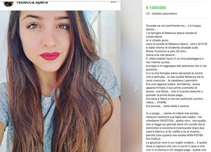 Ragazza 20enne muore in un incidente: la sua vita vale 1 mln su marketplace