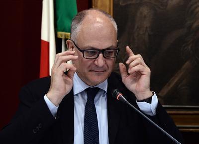 Roberto Gualtieri in seduta congiunta davanti alle Commissioni Bilancio di Senato e Camera