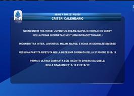 Calendario Partite Napoli 2020.Serie A 2019 2020 Juve Napoli E Lazio Roma Alla 2 Milan