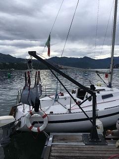 sollevatore 215 - DiversamenteLago: sport e disabilità. Il Rotary offre a ragazzi disabili una crociera diurna sul Lago Maggiore