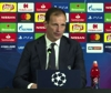 Champions League, Allegri: potevamo fare meglio, Ajax ha meritato