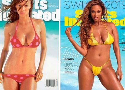 Sport Illustrated, Tyra Banks torna in copertina a 45 anni. E Lindsey Vonn...