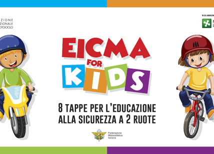 EICMA FOR KIDS, piccoli motociclisti crescono