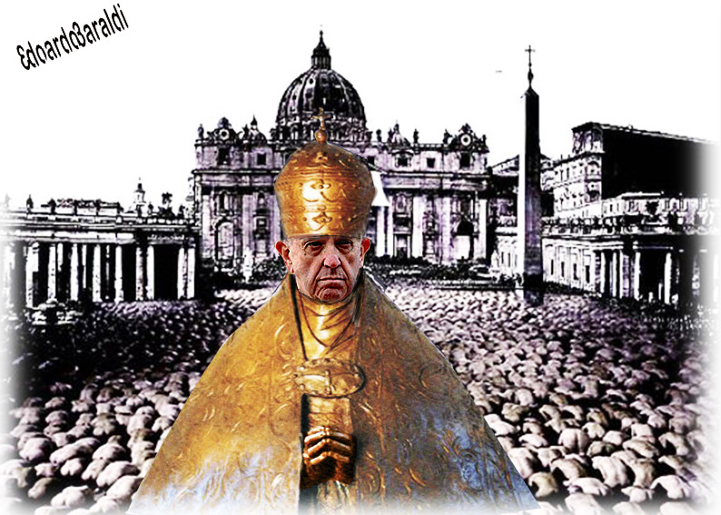 Papa: mondo migranti e rifugiati è croce dell'umanità