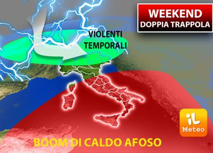 Weekend a 40 gradi, poi i temporali