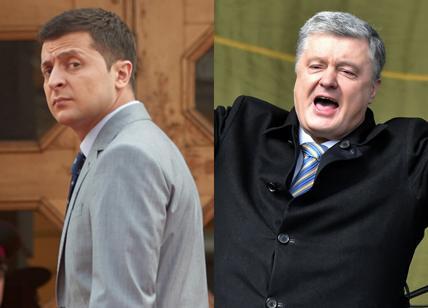 Zelensky è il presidente Poroschenko solo al 25,3%