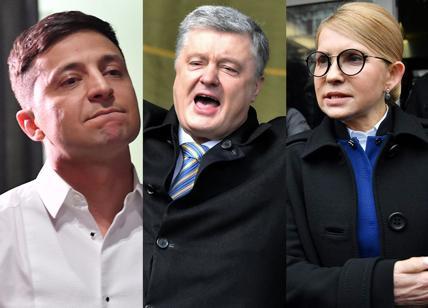 Comico prende il comando dominante nel voto presidenziale in Ucraina