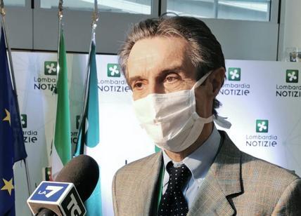 """Coronavirus, Fontana: """"Ospedale in Fiera non è merito del Governo"""""""