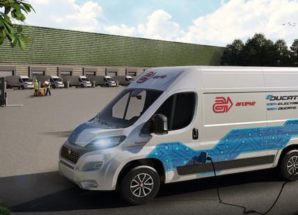 FCA e Arcese insieme  per il futuro del trasporto sostenibile