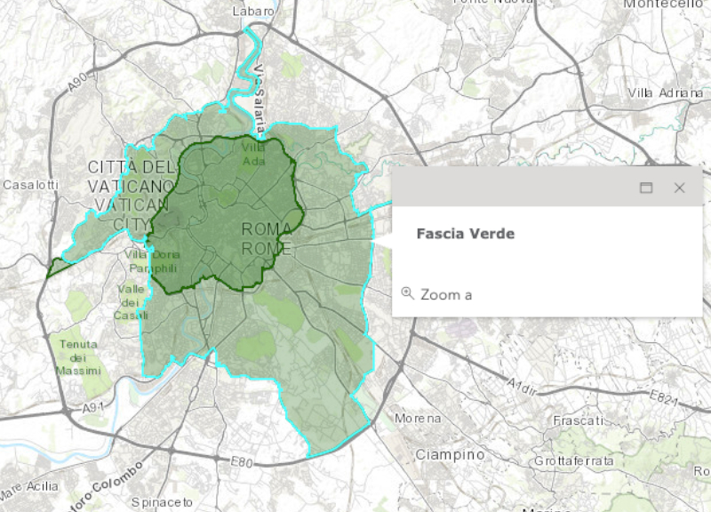 Cartina Della Fascia Verde A Roma.Smog A Roma Diesel Da Panico Comune Blocca La Circolazione Fino Agli Euro 6 Affaritaliani It