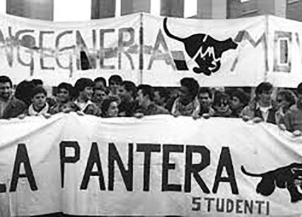 """Roma, La Sapienza, 1990: nella """"notte nera"""" è esplosa La Pantera. Il ricordo"""
