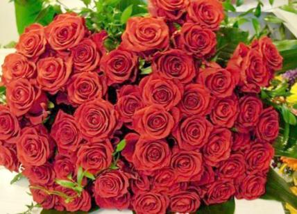 Costo Mazzo Di Fiori Yahoo.San Valentino Ti Amo Con Una Rosa Rossa E Le Regalano Anche