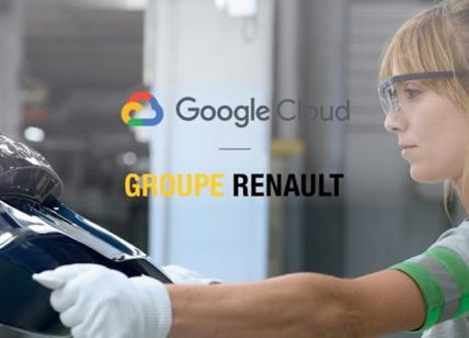Gruppo Renault e Google Cloud insieme  per accelerare la digitalizzazione