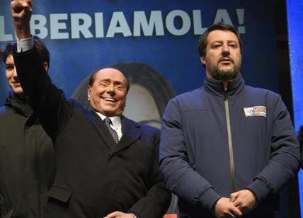 Centrodestra, Berlusconi incorona Salvini leader