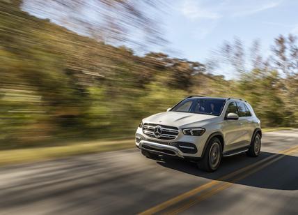 Mercedes GLE domina nei test Euro NCAP per la guida semi-autonoma